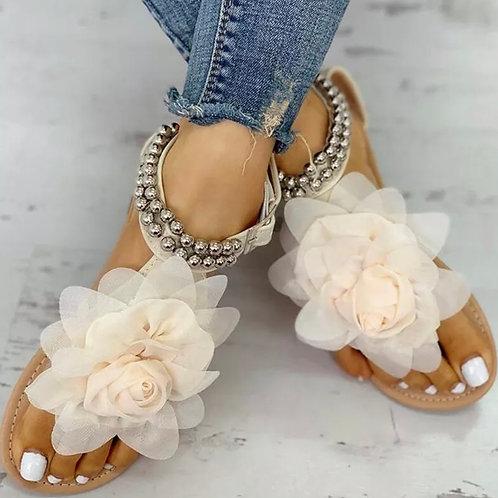 Rose summer sandals