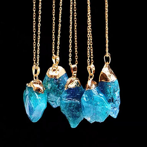 Healing Chakra Crystal Pendant