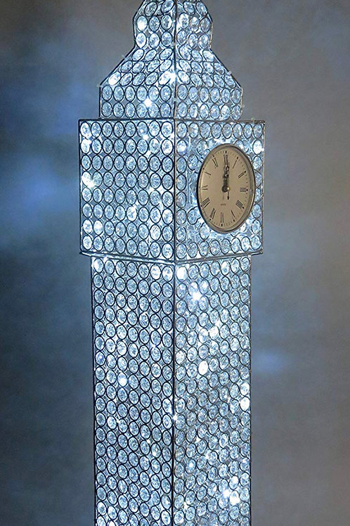 Big Ben Crystal led light clock 💎