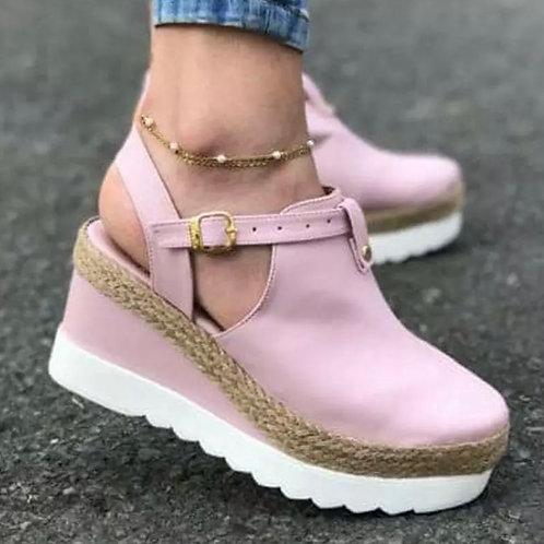 Chic platform sandals