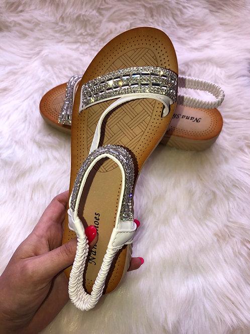 Katelyn Crystal Sandals