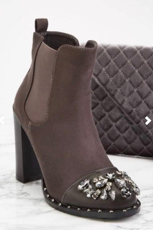 Rae Jewelled boots