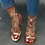 Thumbnail: Butterfly crystal gladiator sandals