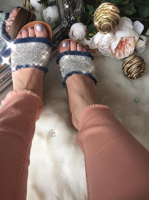Crystal Soft Comfort Sliders