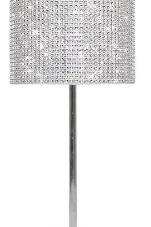 Silver crystal table Lamp 💎