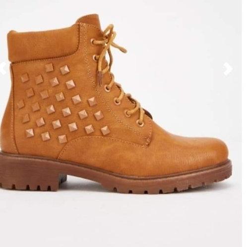 Zira Studded combat boots