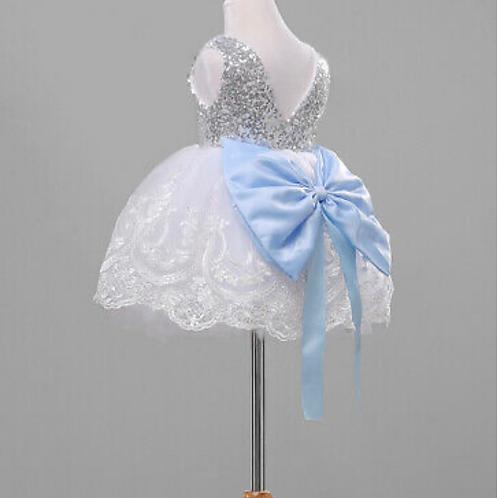 Princess large bow 🎀 Glitter dress