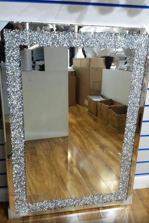 Crushed Diamond mirror 70cm x 100cm