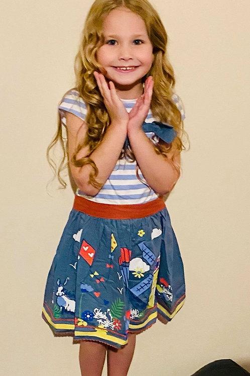Mini Moi girls Bow lighthouse dress 💖
