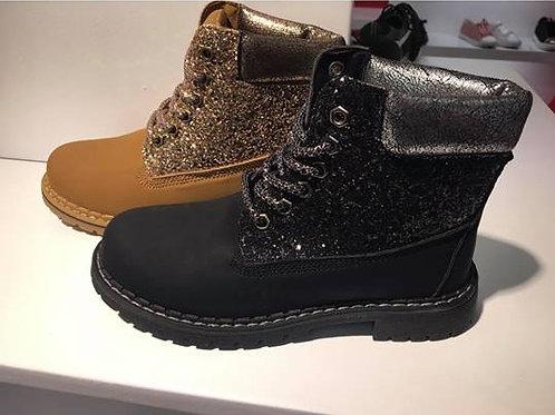 Girls Glitter Boots