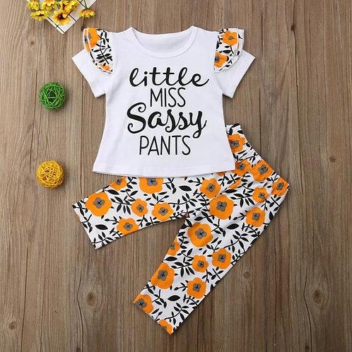 Little Miss Sassy Pants summer set 💖