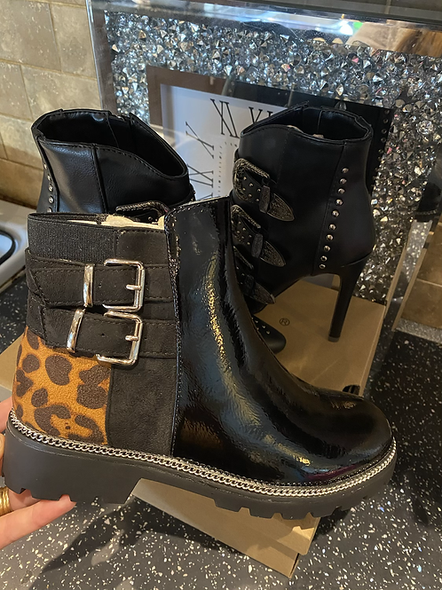 Lydia Fur lined ankle boots