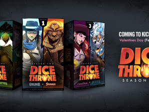 Dice Throne is now in stores!