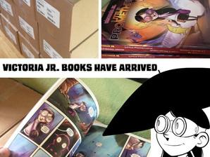 Victoria Jr. books have arrived!