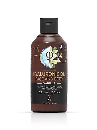 HYALURONIC OIL VANILLE VISAGE ET CORPS 200ML