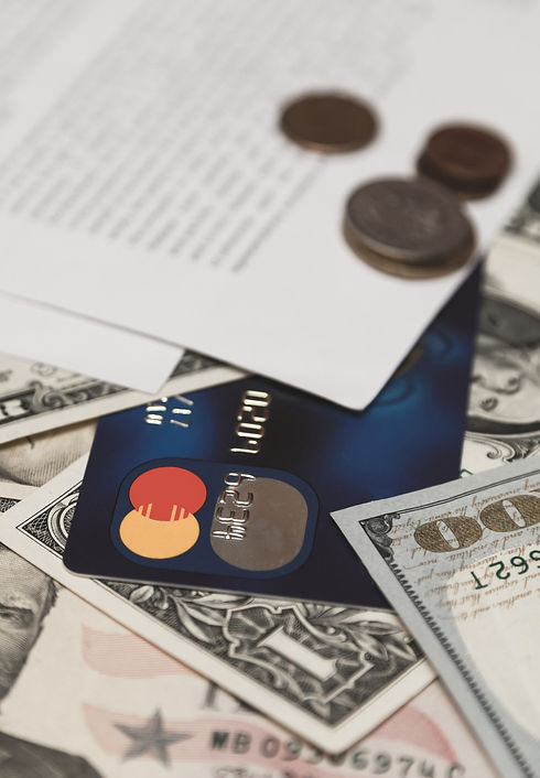 bank-credit-card-moneys-and-coins-and-ba