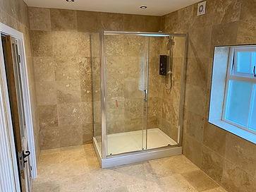 Travertine natural stone 450x450mm tile