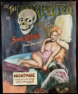 24x30 acrylic - Pulp Cover