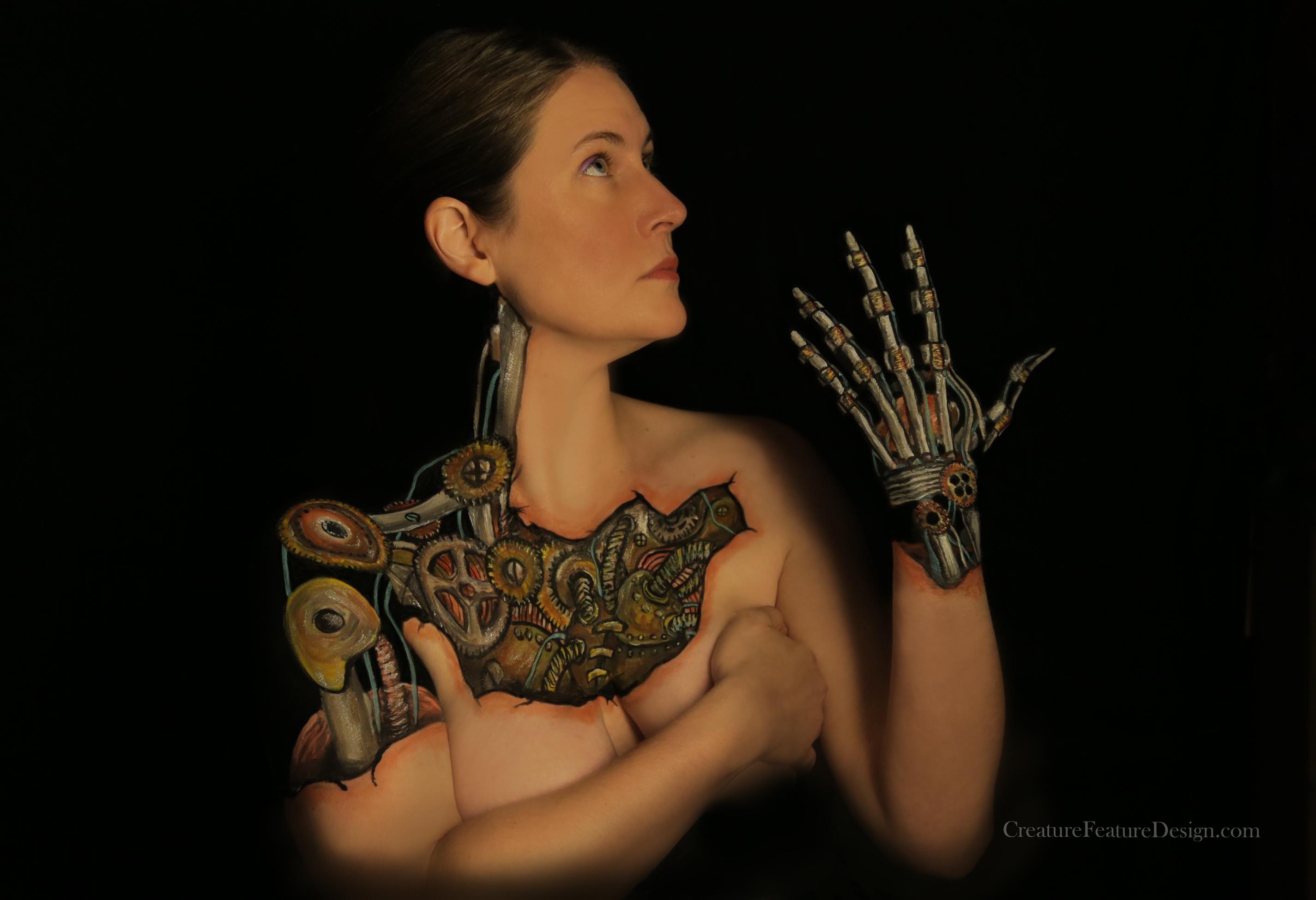 Body Paint - Atom Heart Maiden