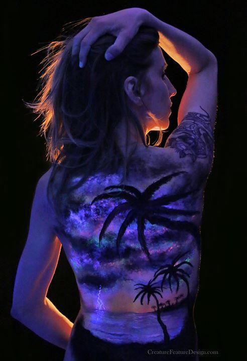 UV Body Paint - Tropic Thunder