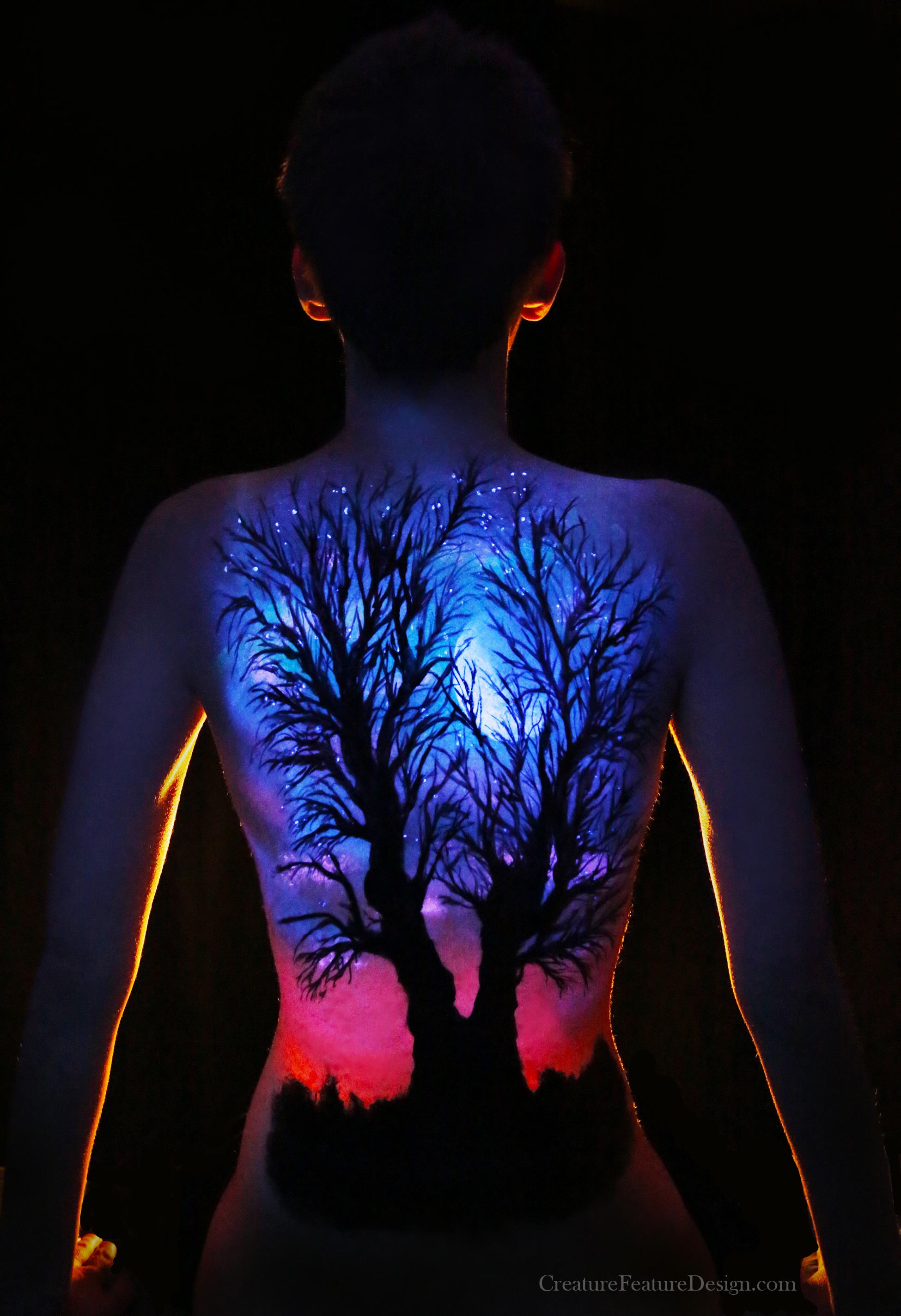 UV Body Paint - Elise