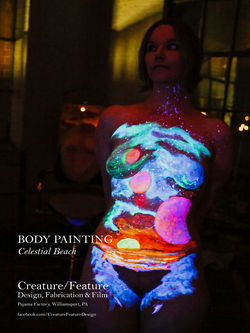 UV Body Paint - JessSpace