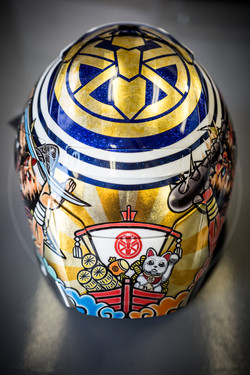 2018 JAPAN SPECIAL HELMET MARQUEZ