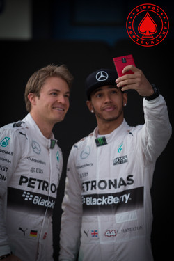 Lewis Hamilton - Nico Rosberg