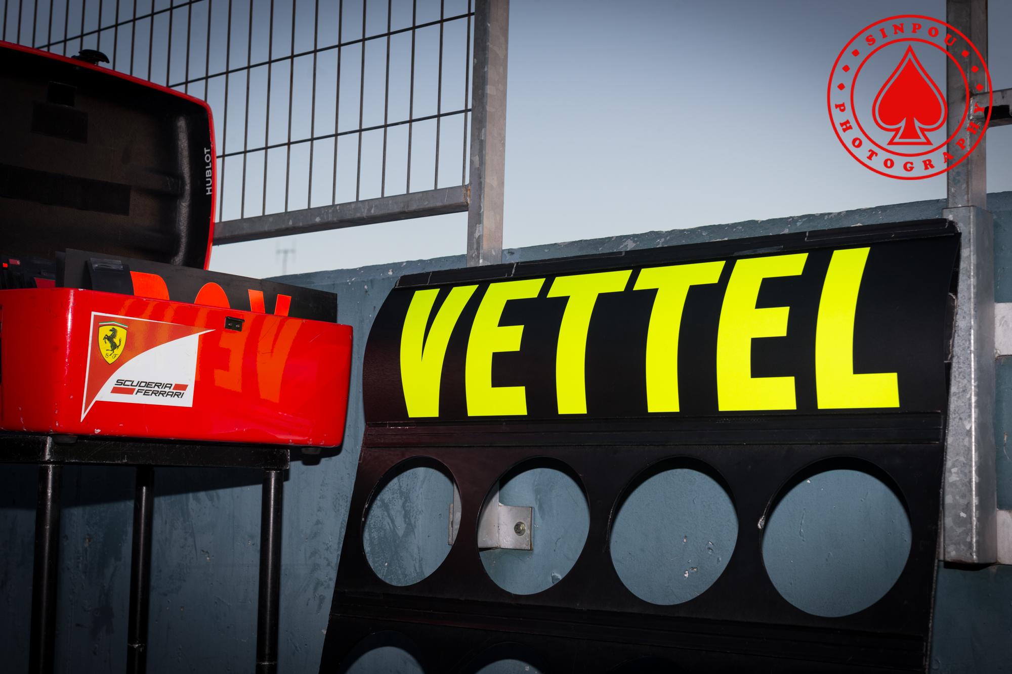 Sebastian Vettel - Scuderia Ferrari