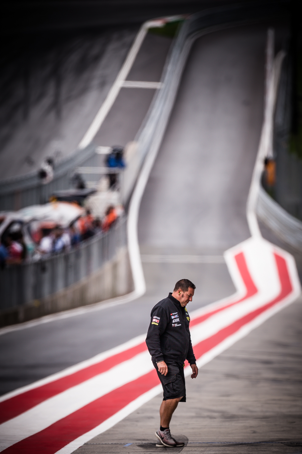 INTO THE PIT LANE