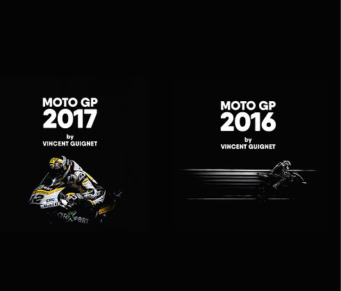 PACK MOTO GP 2016 & 2017 BY VINCENT GUIGNET