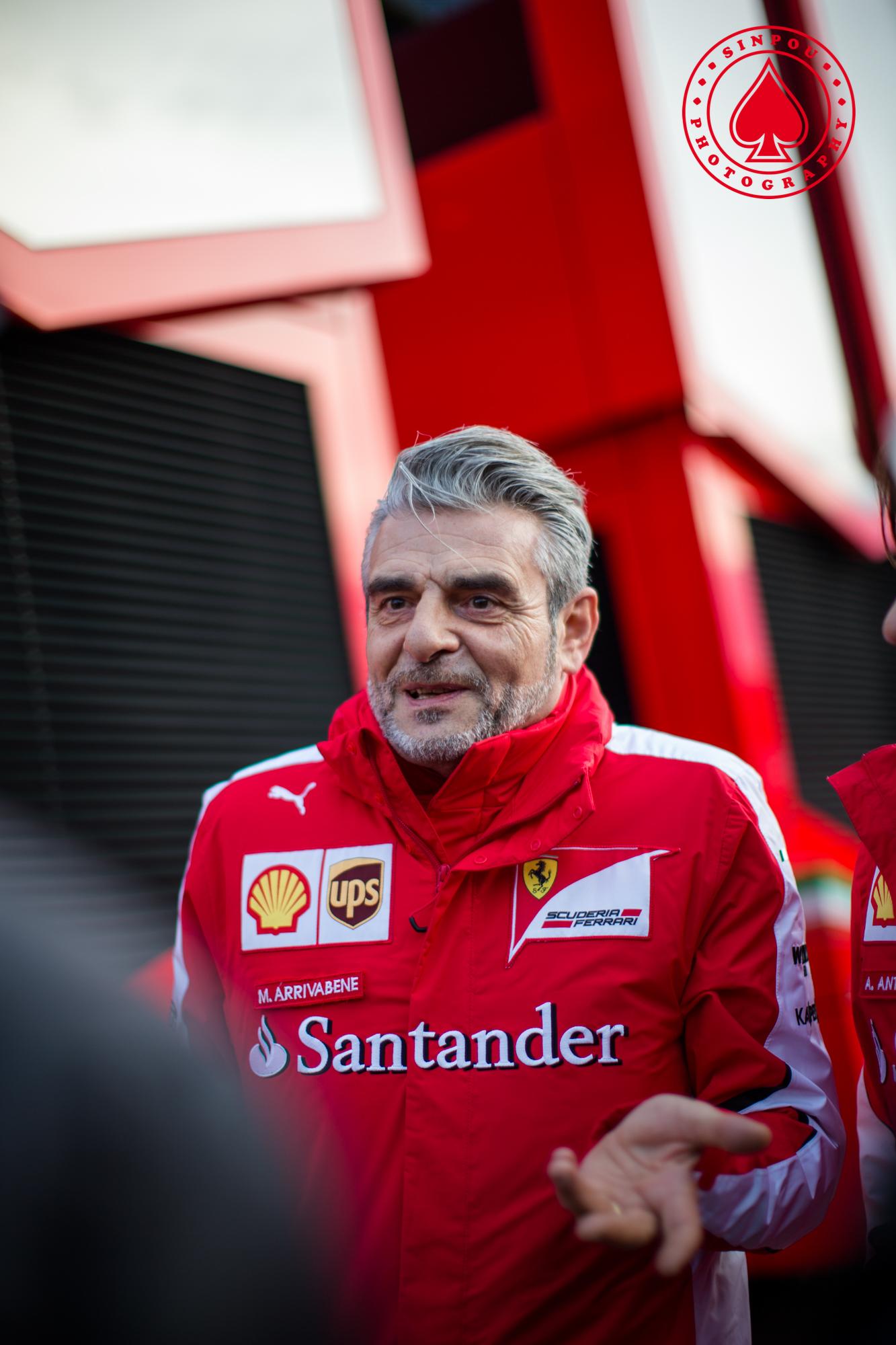 Maurizio Arrivabe - Scuderia Ferrari