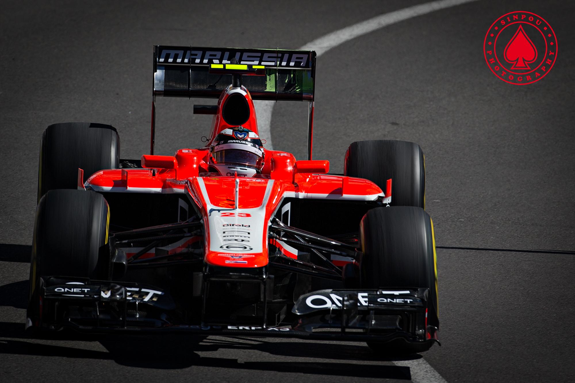 Max Chilton - Marussia