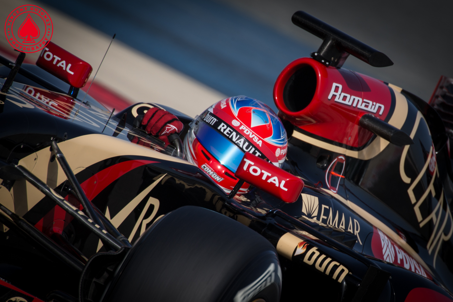 Romain Grosjean - Lotus