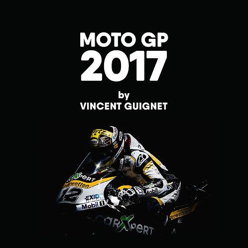 Livre - MOTO GP 2017 by Vincent Guignet