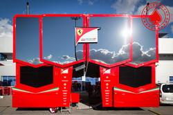 Motorhome Scuderia Ferrari
