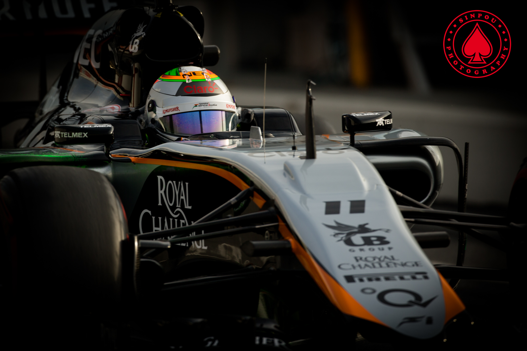 Sergio Perez - Sahara Force India F1
