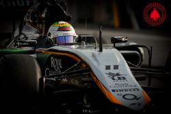 Sergio Perez - Sahara Force India F1