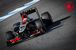 Romain Grosjean - Lotus F1 Team