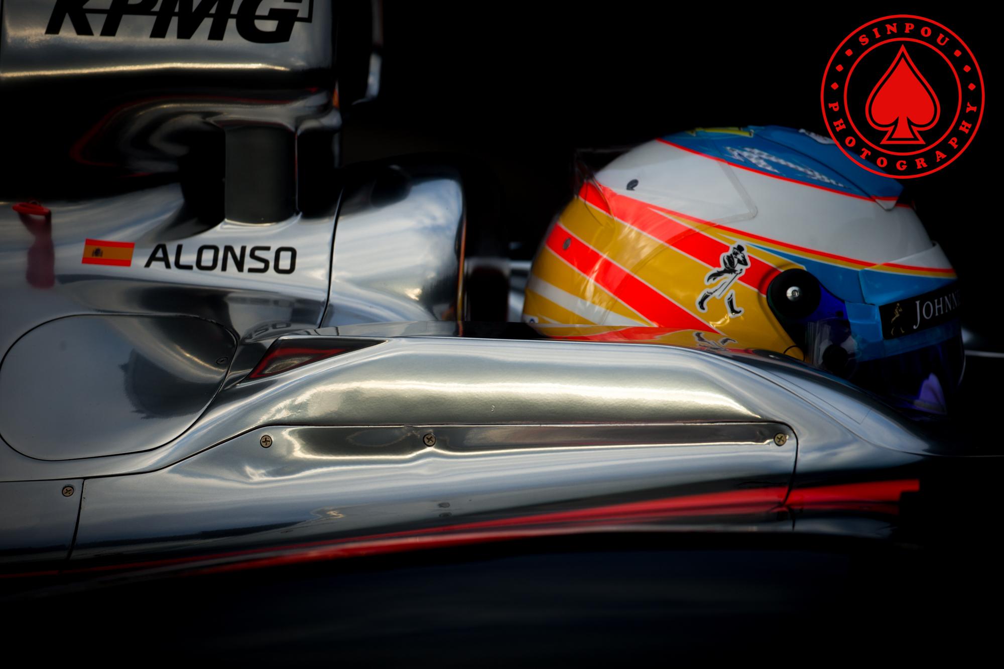 Fernando Alonso - McLaren Honda
