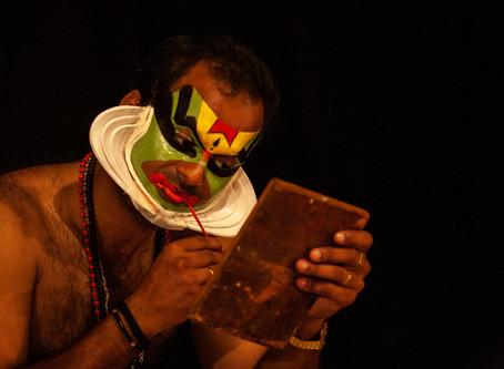 "Reportage ""Kathakali"" à Cochin India"