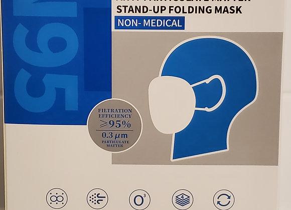 N95 STAND-UP FOLDING MASK (QTY 10) Per Box