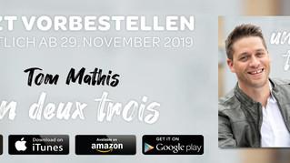 """Tom Mathis - Neue Single """"Un deux trois"""""""