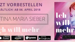 Neues Album von Cristina Maria Sieber - Jetzt vorbestellen!