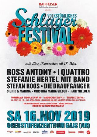 Schlagerfestival 2019 in Gais AR
