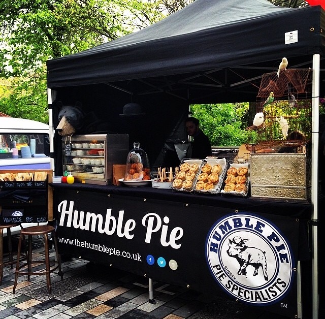 The Humble Pie Stand