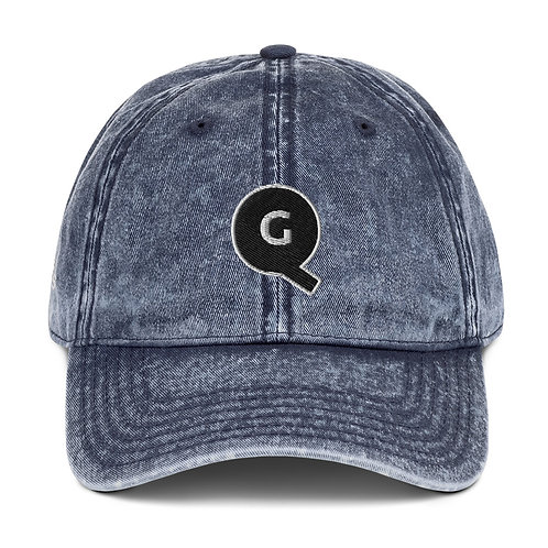 Gentleman Quinns™ Vintage Cotton Twill Cap