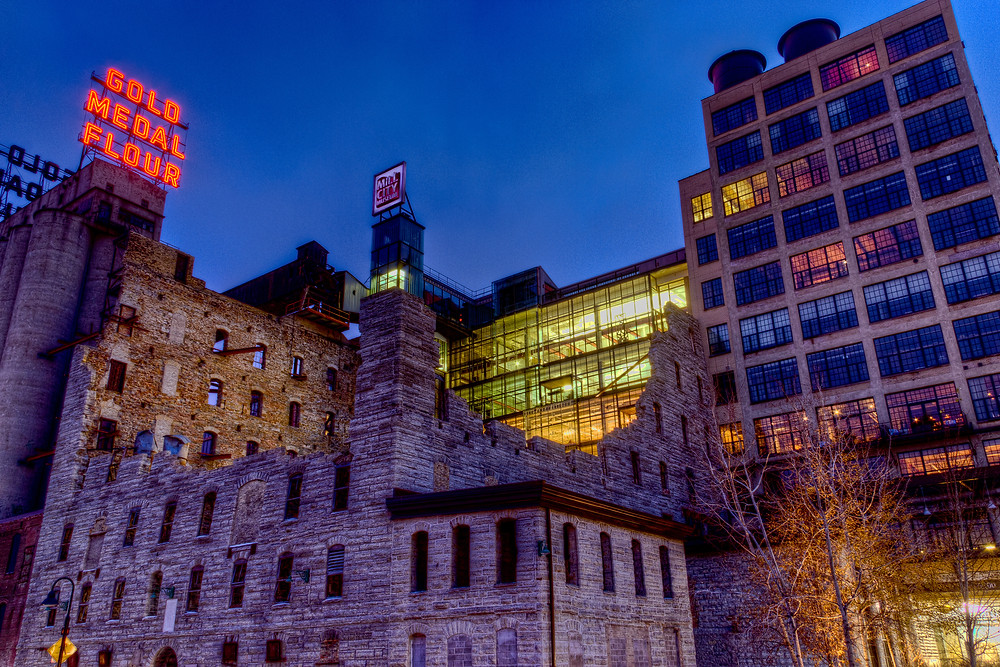 Mill City Museum in Minneapolis, MN
