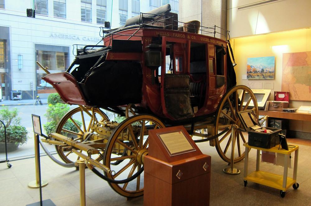 Wells Fargo History Museum in San Francisco, CA