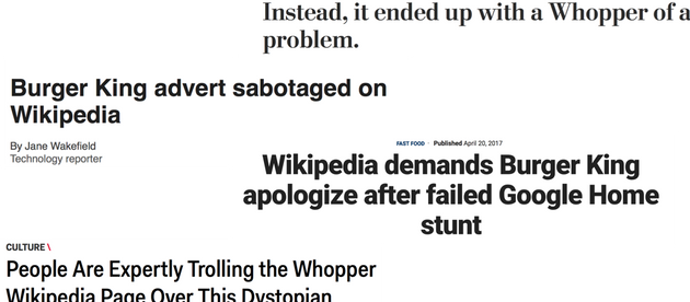 Not Using Wikipedia as a Marketing Tool